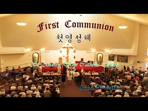 2015-0607 First Communion (Saint Andrew Kim Korean Catholic Church) MD USA