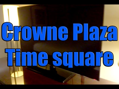 Crowne Plaza Times Square Room Tour 2015