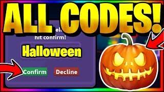 *ALL* NEW SECRET OP WORKING CODES! Roblox Halloween Simulator