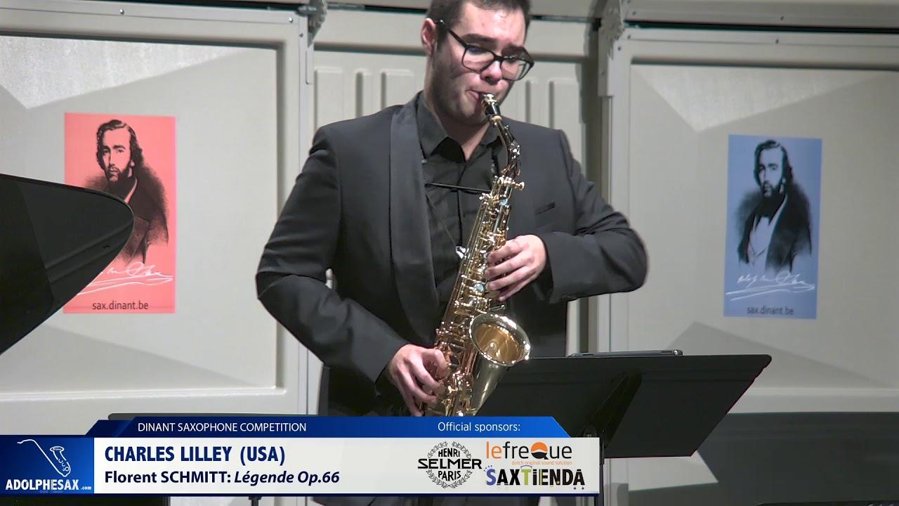 Charles Lilley (USA) – Legende Op 66 by Florent Schmitt (Dinant 2019)