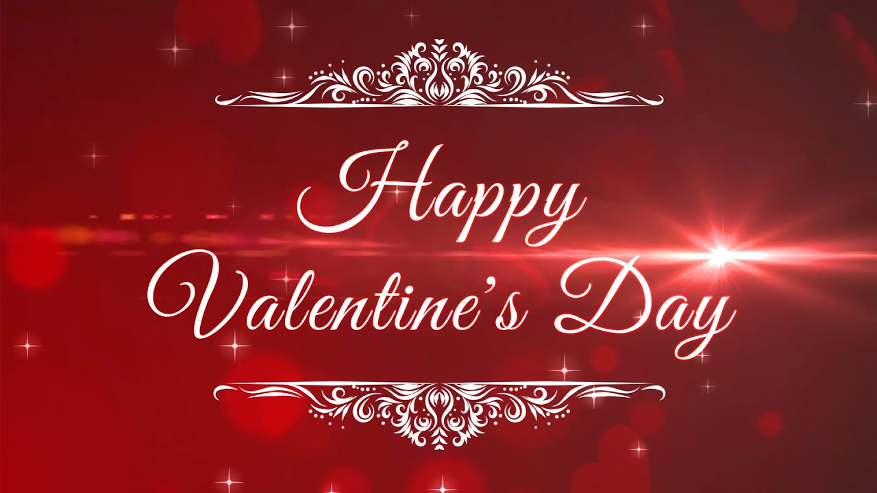 Happy Valentine S Day Animation Motion Graphics Youtube