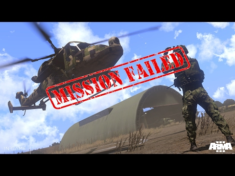 Mission Failed! -- Arma 3 bullshit with friends