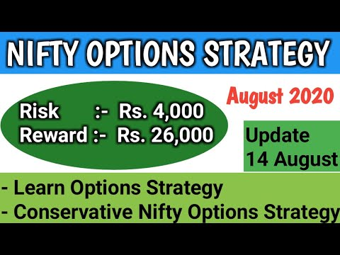 NIFTY OPTIONS STRATEGY AUG 2020 UPDATE 14 Aug | nifty hedging options strategy