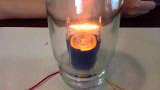 夏休みの自由研究でシャーペンの芯を使ったエジソン電球を作ってみた。 ...