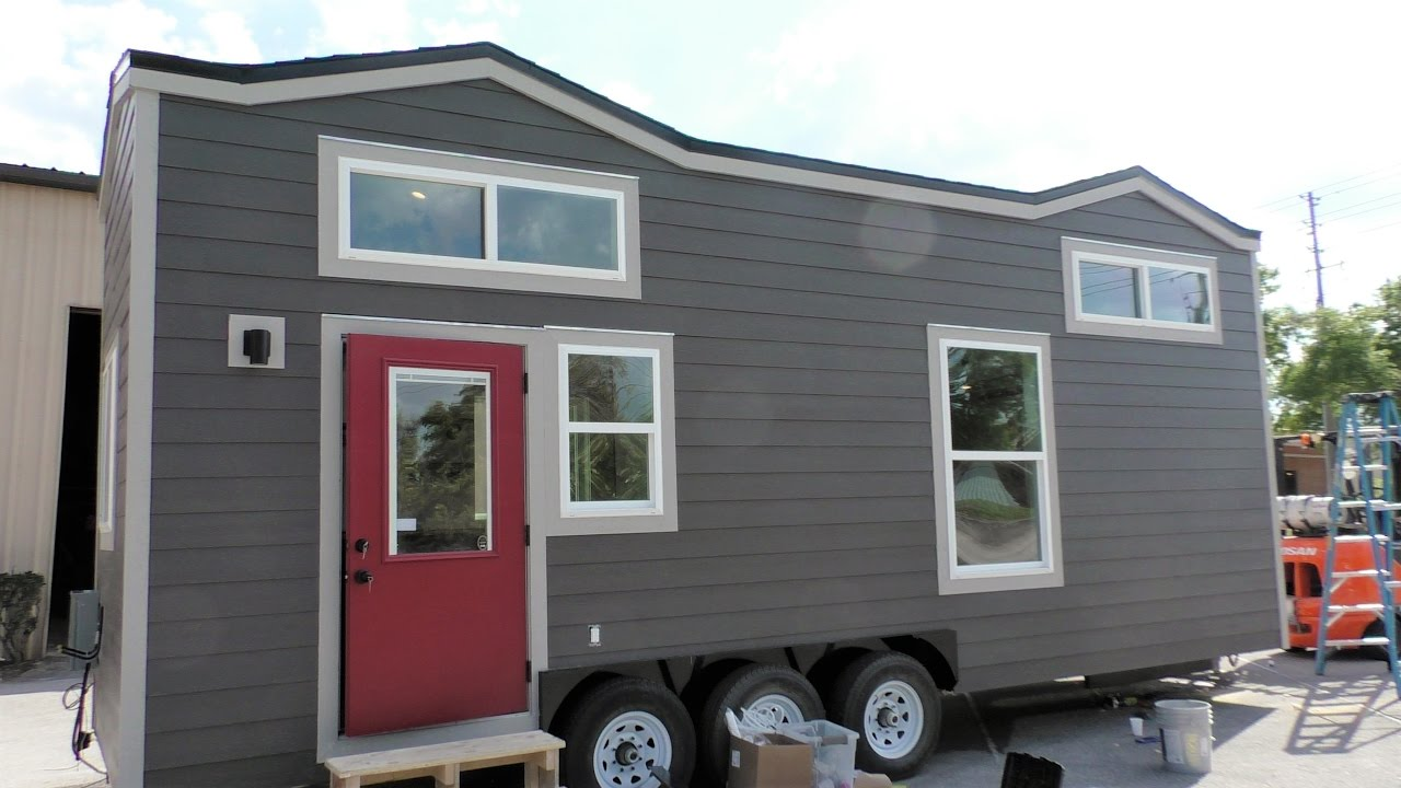 A Colorado Bound Tiny House by Cornerstone Tiny Homes YouTube
