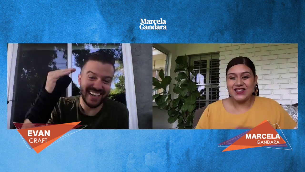 Entre amigos con Marcela Gandara: conociendo a Evan Craft más a fondo