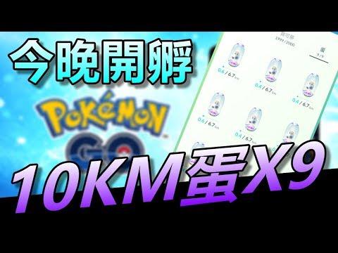 【精靈寶可夢go】Pokemon go|久違10公里連孵!!