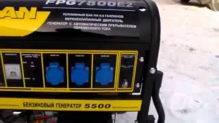 видео Прокат бензогенераторов