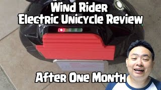 Wind Rider Review -Electric Unicycle After One month
