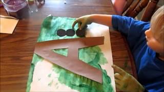 Preschool at Home: Week 1 Letter