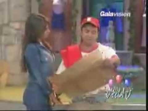 Galilea Montijo y Evelio con V Chica   Vida TV 2002