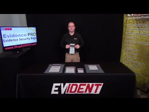 Evidence PRO Evidence Bags - EVIDENT