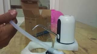 Pompa Elektrik Air Galon Rechargeable Alloet