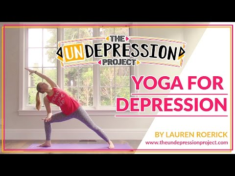 Yoga for Depression (12 mins)