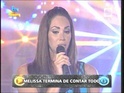 MELISSA LOSA CUENTA PORQUE TERMINO SU RELACION CON GUTY CARRERA