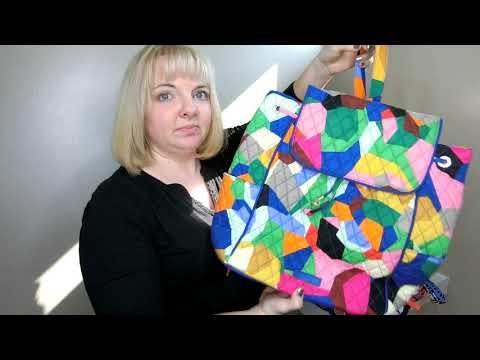My Mega Vera Bradley Backpacks Review Including Latest Style Part 1