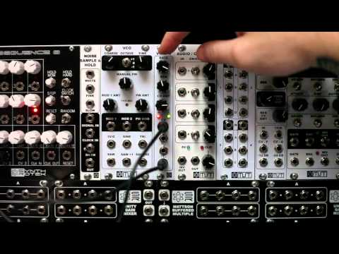 MST Voltage Controlled Low Frequency Oscillator (LFO) Synthrotek Demo Video