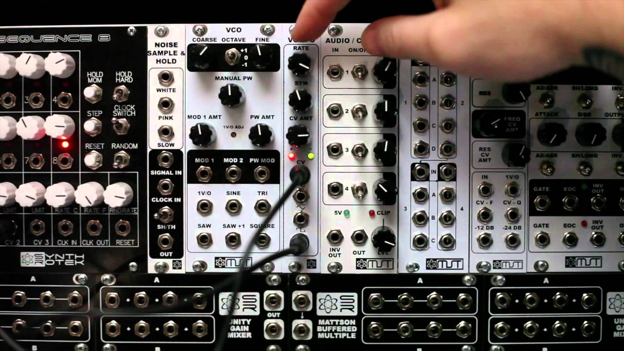 mst voltage controlled low frequency oscillator lfo synthrotek demo video youtube. Black Bedroom Furniture Sets. Home Design Ideas