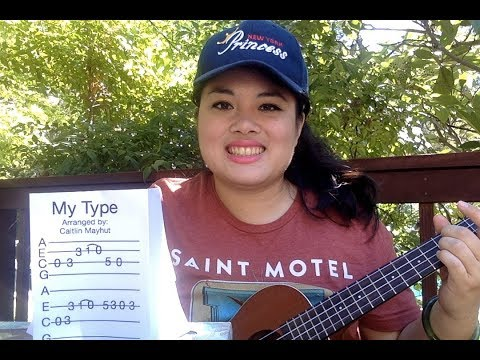 My Type, Saint Motel: Ukulele Riff Tutorial + Tab + Concert Clip