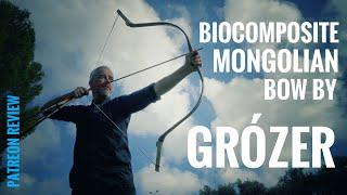 Mongolian Biocomposite Bow By Grózer - Patreon Review