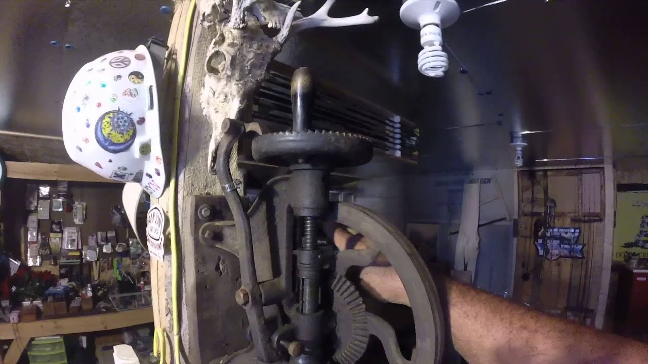 champion blower & forge co drill press