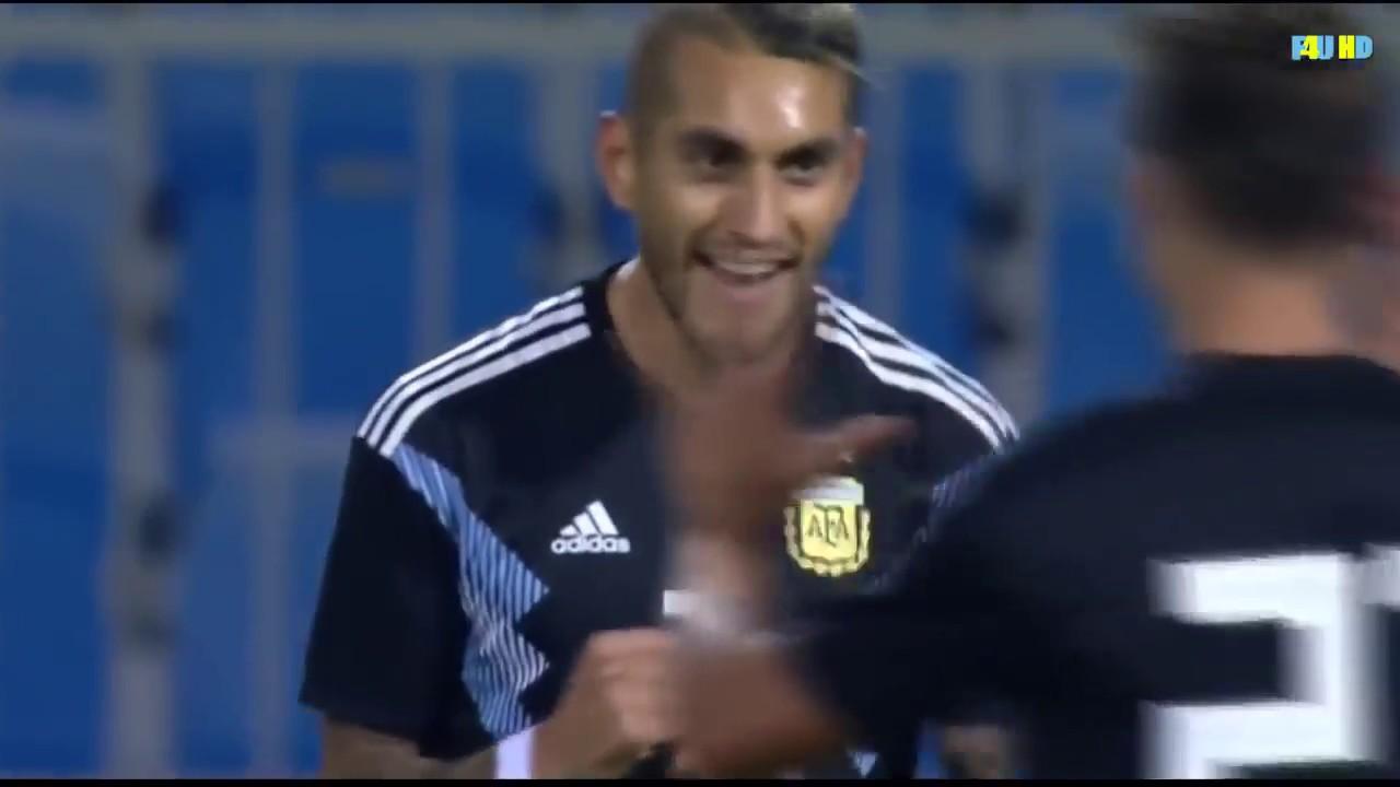 Download Roberto Pereyra goal   Argentina vs Iraq 4-0   All Goals & Highlights 2018 HD