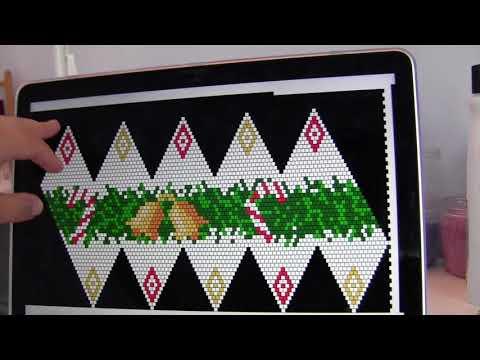 Bead Crochet of Christmas Ornament