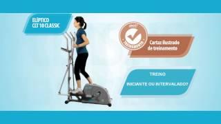 Elíptico CLT10 - Linha Classic | act! home fitness by Caloi - Dicas de Treino