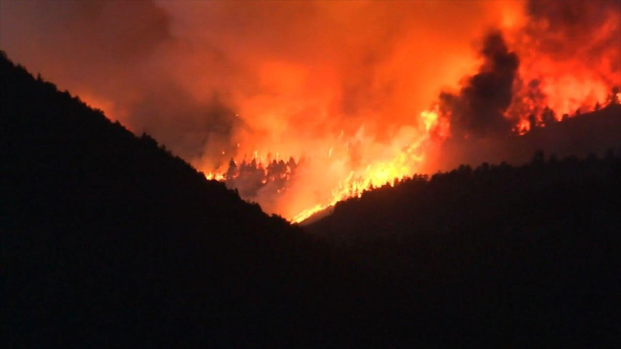 Raw: Colorado Wildfire Destroys Over 100 Homes
