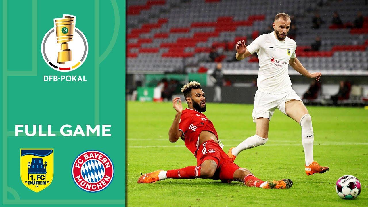 1. FC Düren vs. FC Bayern Munich 0-3 | Full Game | DFB-Pokal 2020/21 | 1st Round