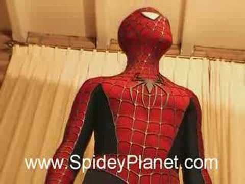 & My Suit in 2007 - Spider-Man Costume Replica - YouTube