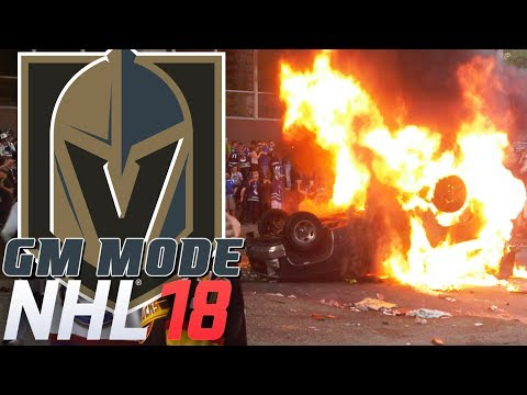 FANS ARE PISSED - NHL 18 - GM Mode Commentary - Vegas ep. 11