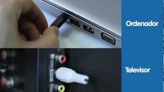 ¿Cómo Conectar El PC A La Televisión?