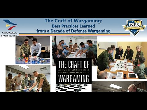 The Craft of Wargaming: Best Practices for Defense Wargaming by Jeff Appleget