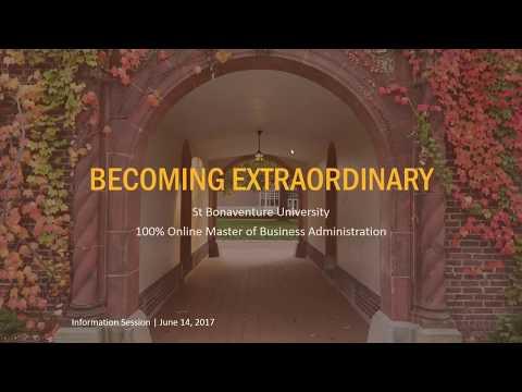 Online MBA Program Webinar Hosted by SBU Online on June 14, 2017