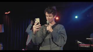Alec Benjamin Water Fountain Live in Cologne 07 02 2019 Blue Shell
