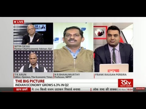 The Big Picture - Indian Economy Grows 6.3% in Q2