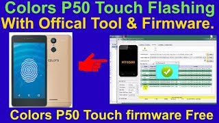 How to hardreset and frp lock bypass of colors p50 tutorial in nepali