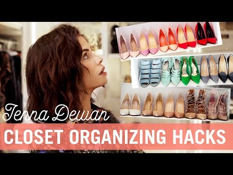 Spring Clean With Me: Closet Organizing Hacks  Jenna Dewan