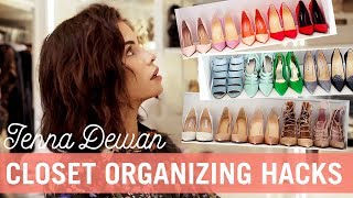Spring Clean With Me: Closet Organizing Hacks | Jenna Dewan