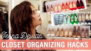 spring clean with me closet organizing hacks jenna dewan