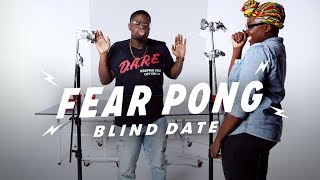 Blind Dates Play Fear Pong (Malik vs. Akunna) | Fear Pong | Cut