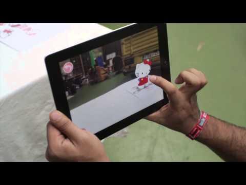 Hello Kitty App - Augmented Reality Demo