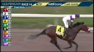 Nyquist wins the Florida Derby