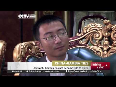 Gambia's relationship with China based on principle