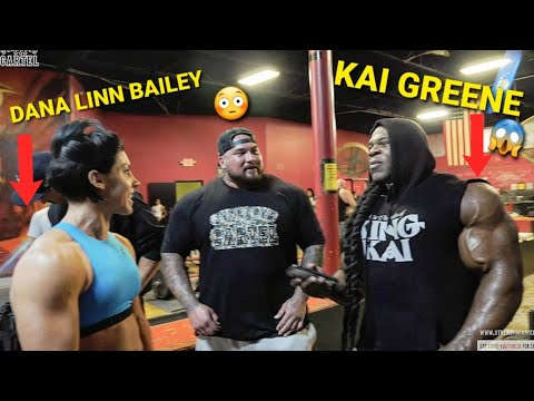 """Download INSANE SHOULDER WORKOUT WITH """"KAI GREENE and DANA LINN BAILEY"""" THE 2 BEST BODYBUILDERS IN THE WORLD!"""