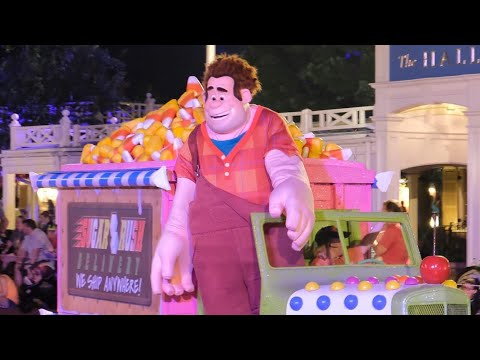 Boo-to-You Halloween Parade 2017 at Mickey's Not-So-Scary Halloween Party, Walt Disney World
