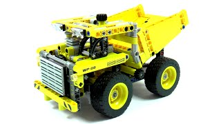 Lego Technic 42035 Mining Truck Speed Build And Review