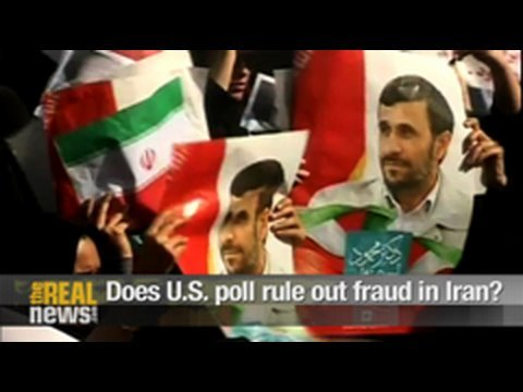 Does U.S. poll rule out fraud in Iran?