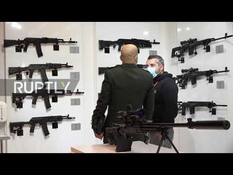 United Arab Emirates: IDEX 2021 arms expo kicks off in Abu Dhabi
